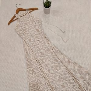 Lace White Wedding Rehearsal Summer Dress